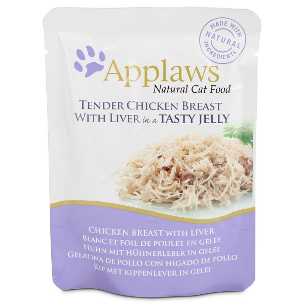 Applaws Cat Huhn mit Hühnerleber in Gelee