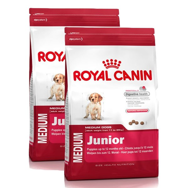 Royal Canin Hundefutter Medium Junior 2x15kg