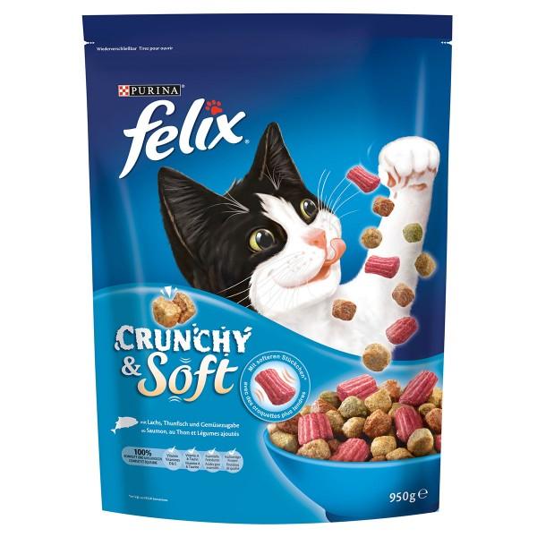 FELIX Crunchy & Soft Fisch