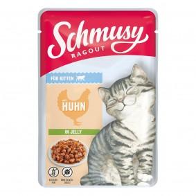 Schmusy Ragout für Kitten mit Huhn in Jelly
