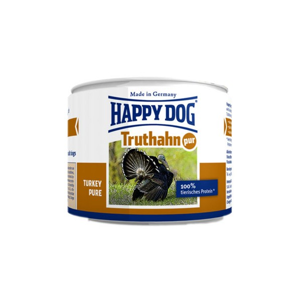 Happy Dog Truthahn Pur 12x200g