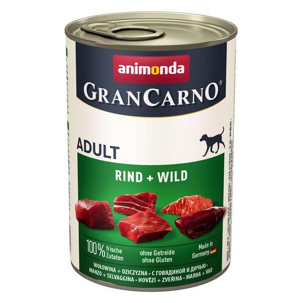 Animonda GranCarno Original Adult Rind und Wild