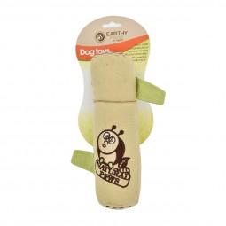 Earthy Pawz Holz Hundespielzeug Beißsack Φ7×25cm