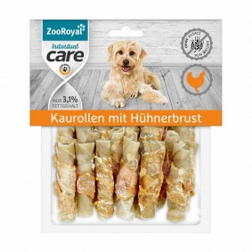 ZooRoyal Individual care Kaurollen mit Hühnerbrust