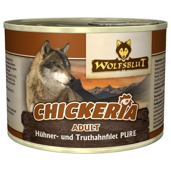 Wolfsblut Chickeria Adult Pure Hühnerfilet mit Truthahn