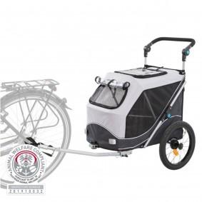 Trixie Fahrrad-Anhänger Gr. M 63 x 95 x 90/132 cm
