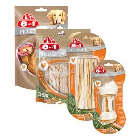 8in1 Probierpaket für mittelgroße Hunde