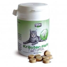 Grau - Comprimés pour chats aux herbes et à la levure