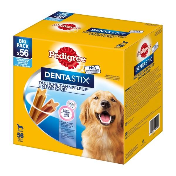 Pedigree DentaStix für große Hunde 56er Multipack