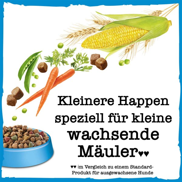 PURINA BENEFUL Gesunde Anfänge Welpenfutter trocken mit Huhn & Gartengemüse