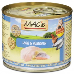 MAC's Cat Katzenfutter Lachs & Hühnchen