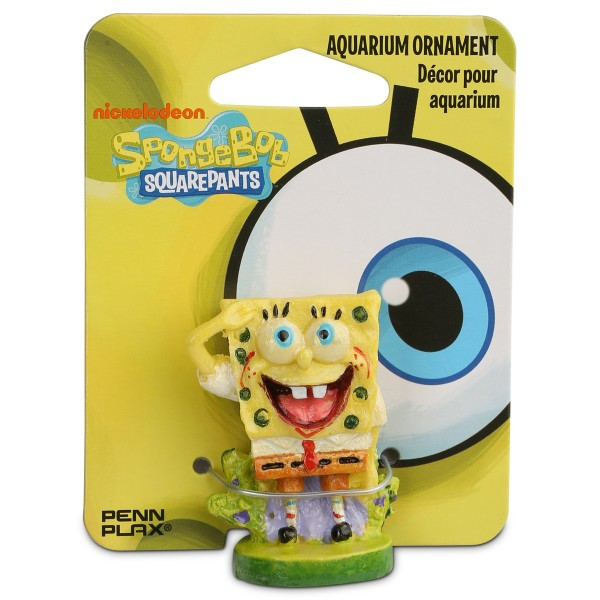 Spongebob - Aquarium Dekoration - Figur Spongebob Schwammkopf