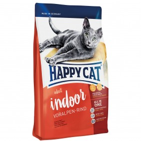 Happy Cat Indoor Adult Voralpen-Rind 3x4kg