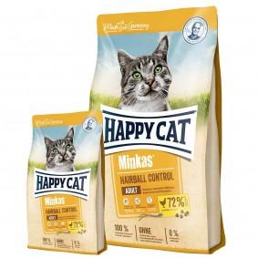 Happy Cat Minkas Hairball Control Geflügel 10kg + 1,5kg gratis