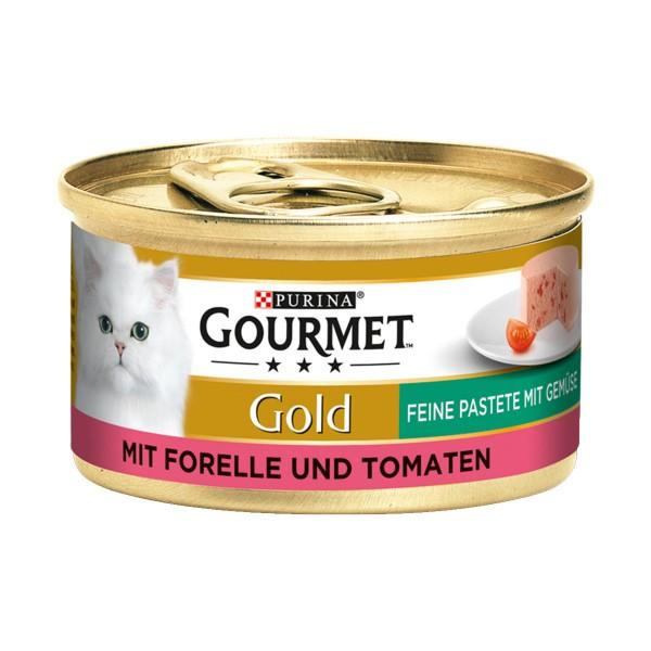 Gourmet Gold Feine Pastete Forelle und Tomaten