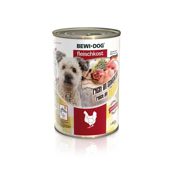 Bewi Dog Fleischkost Reich an Huhn
