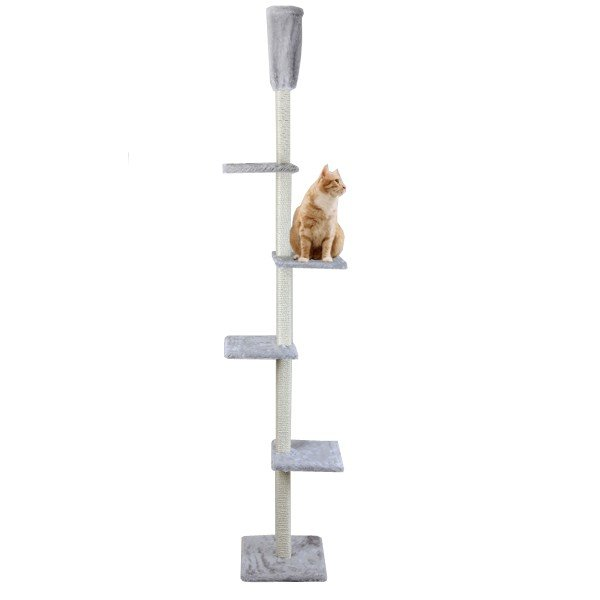 Cat Dream Kratzbaum raumhoch - grau