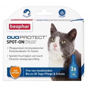 beaphar DuoProtect Parasitenabwehr für Katzen