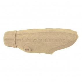 Wolters Zopf-Strickpullover beige