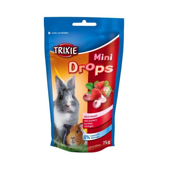 Trixie Mini Drops Kleintiersnack mit Erdbeere