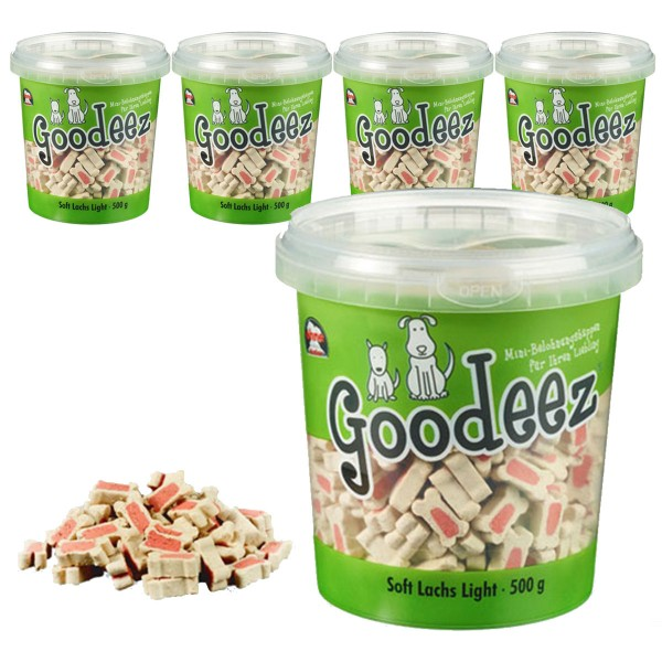 Goodeez Hundesnack Trainer Soft Lachs 5x500g