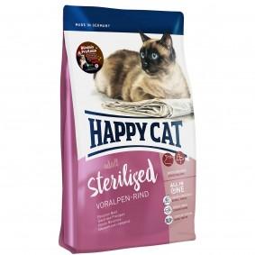 Happy Cat Sterilised hovězí zpředhůří Alp