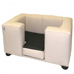 Silvio Design Hundesofa Compact in Lederoptik