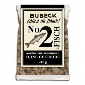 Bubeck Hundesnack No.2 Fisch 210g