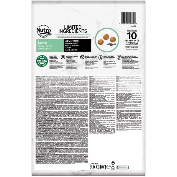 Nutro Limited Ingredients Adult Lamm