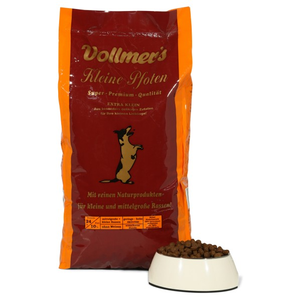 Vollmer's Kleine Pfoten Trockenfutter