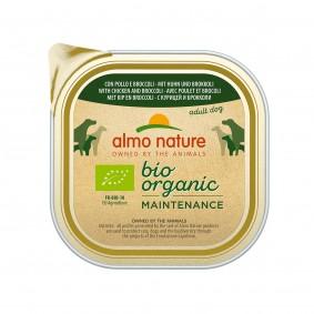 Almo Nature Bio Organic skuřecím masem abrokolicí