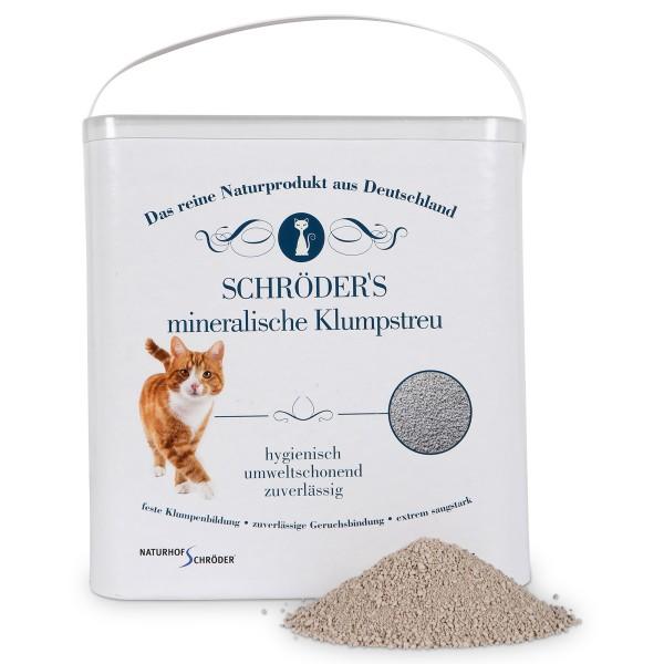 Naturhof Schröder's mineralische Klumpstreu 10 kg
