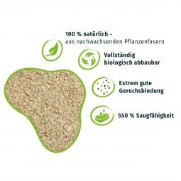 PRIMOX® Natürliche KLUMPSTREU aus Pflanzenfasern