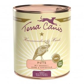 Terra Canis CLASSIC – Pute mit Brokkoli, Birne und Kartoffel