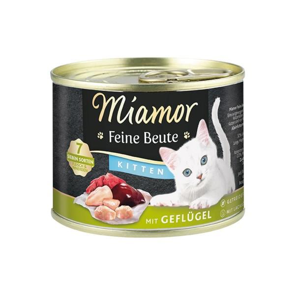 Miamor Feine Beute Kitten - Geflügel