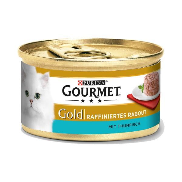 Gourmet Gold Raffiniertes Ragout Thunfisch