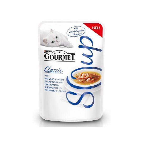 GOURMET Soup Classic Thunfischfilet und Shrimps 40g