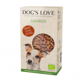 Dog's Love Hundesnack Goodies-Bio Rind 150g