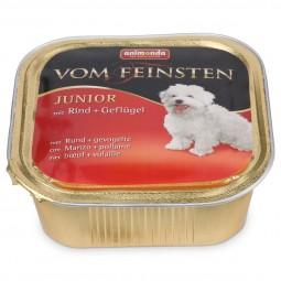 Animonda Hundefutter Vom Feinsten Junior Rind und Geflügel
