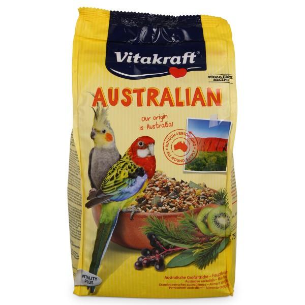Vitakraft Vogelfutter Australian für Nymphensittiche 750g