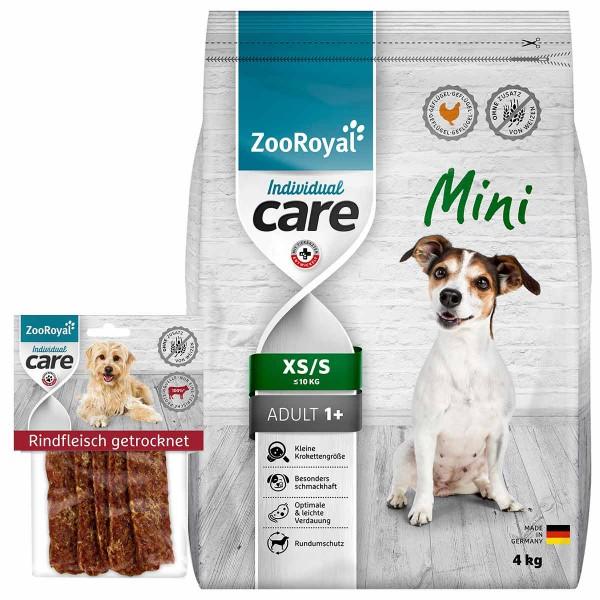 ZooRoyal Individual Care Mini Geflügel 4kg + Snack gratis