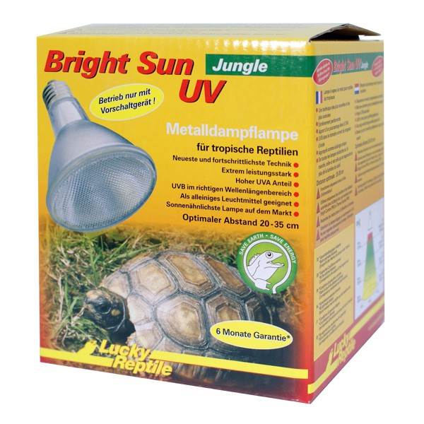 Lucky Reptile Metalldampflampe Bright Sun UV Jungle