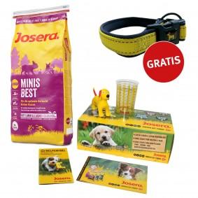 Josera Welpenbox MinisBest + Reflektionshalsband GRATIS
