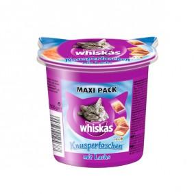 Whiskas Maxi Pack Knuspertaschen mit Lachs