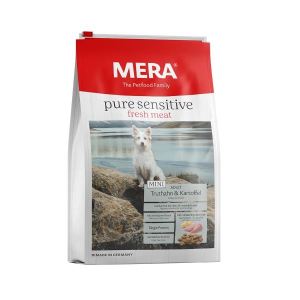 MERA pure sensitive Trockenfutter MINI fresh meat Truthahn&Kartoffel