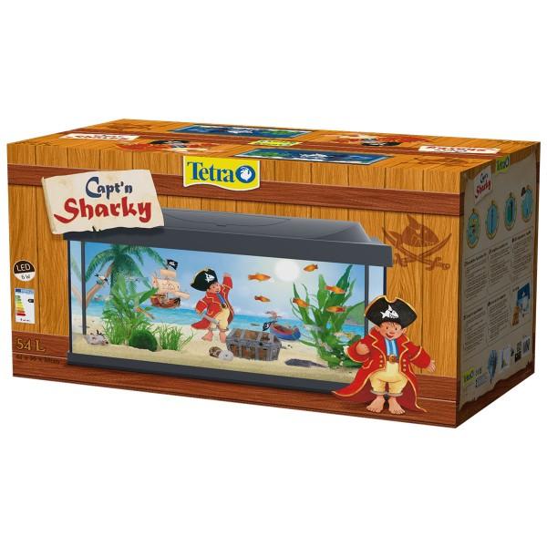 Tetra Capt'n Sharky LED Aquarium 54l