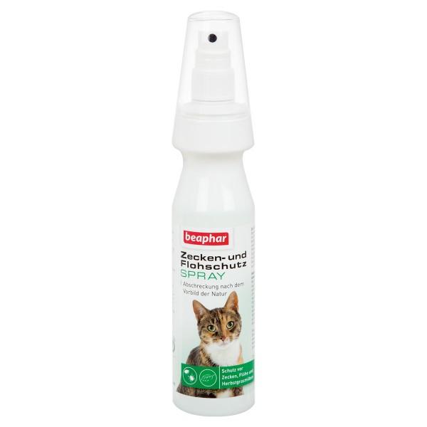 beaphar Zecken- und Flohschutz Spray für Katzen 150ml