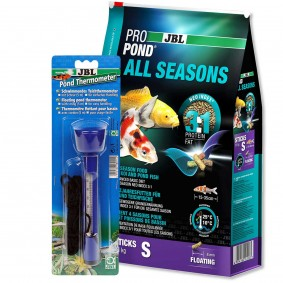 JBL ProPond All Seasons S 4,3kg + Thermometer Gratis