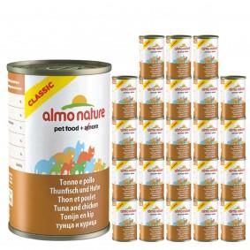 Almo Nature Classic Katzenfutter 24x140g - Thunfisch & Huhn