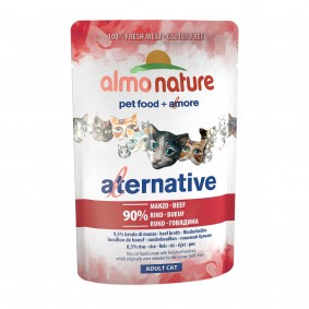 Almo Nature Alternative wet Cat 55 Rind